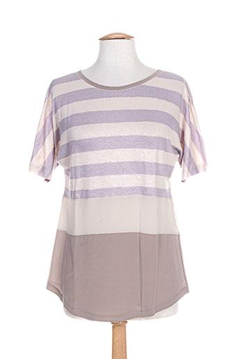 fabiana filippi chemises femme de couleur violet