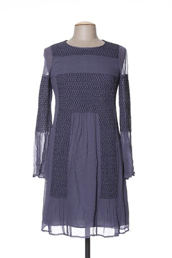 intropia robes femme de couleur bleu