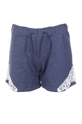 name it shorts / bermudas fille de couleur bleu