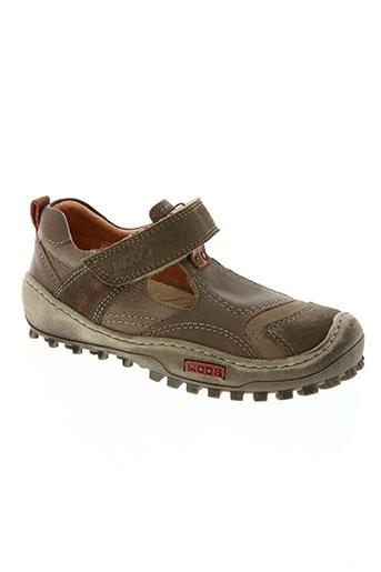 mod8 chaussures garçon de couleur marron