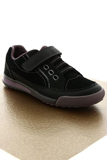 super fit chaussures enfant de couleur noir