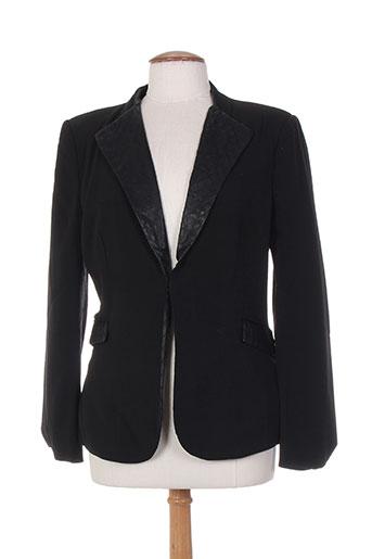 chanon vestes femme de couleur noir