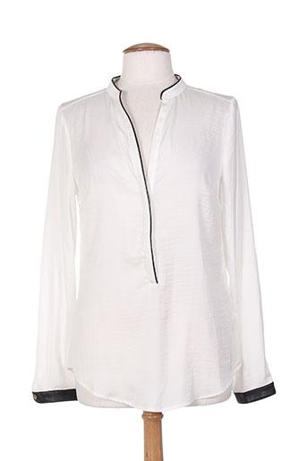 chanon chemises femme de couleur beige
