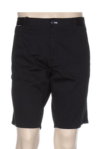 armani shorts / bermudas homme de couleur noir