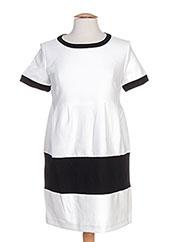 Robe courte blanc ELLA LUNA pour femme seconde vue