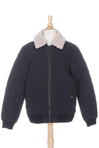 teddy smith manteaux garçon de couleur noir