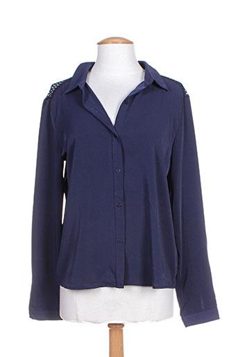 noemie EFFI_CHAR_1 co chemises femme de couleur bleu