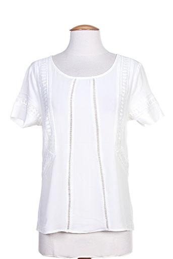noemie EFFI_CHAR_1 co chemises femme de couleur blanc
