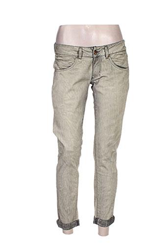 met jeans femme de couleur gris