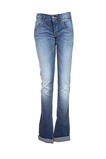 met jeans femme de couleur bleu