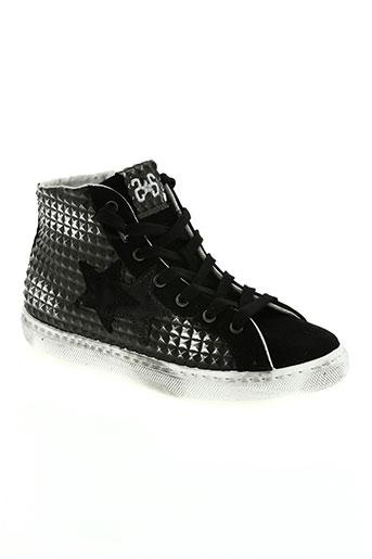 star chaussures fille de couleur gris