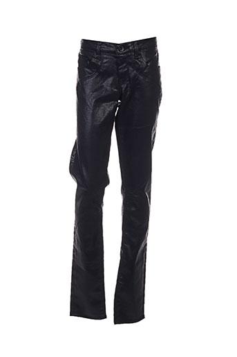 guess pantalons fille de couleur noir