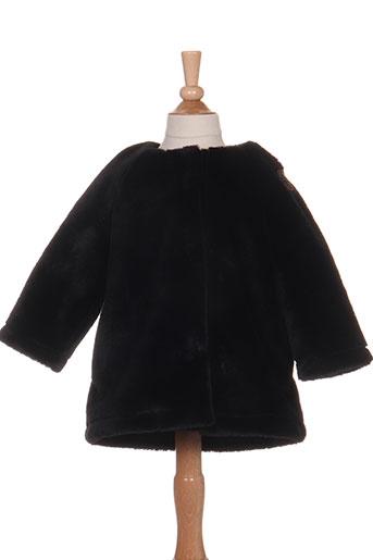gertrude + gaston manteaux fille de couleur noir
