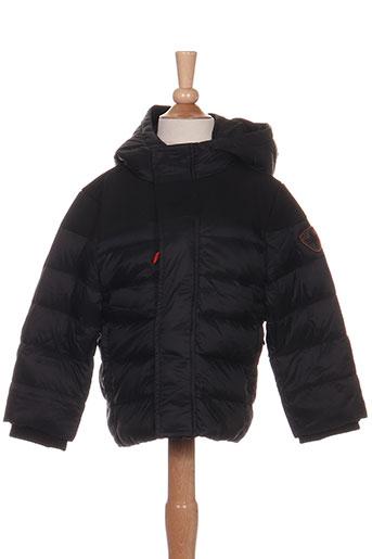 gertrude + gaston manteaux garçon de couleur noir