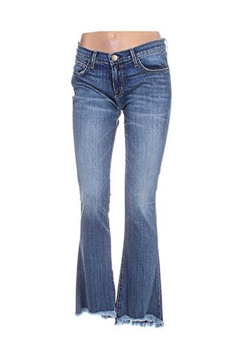 Jeans bootcut bleu CURRENTE/ELLIOTT pour femme