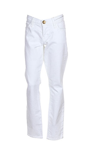 Pantalon casual blanc CURRENTE/ELLIOTT pour femme