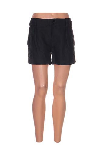closed shorts / bermudas femme de couleur noir