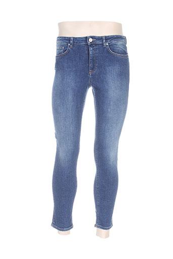 acne studios jeans homme de couleur bleu
