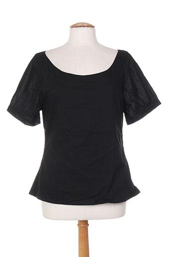 kamakala t-shirts femme de couleur noir