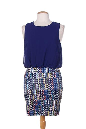 cherry koko robes femme de couleur bleu