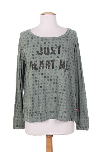 i love my t's t-shirts femme de couleur vert