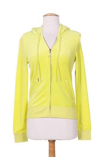 juicy couture vestes femme de couleur jaune