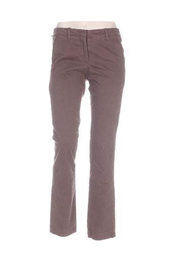 Pantalon casual marron RALPH LAUREN pour femme