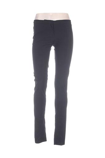 Pantalon casual noir ILARIA NISTRI pour femme