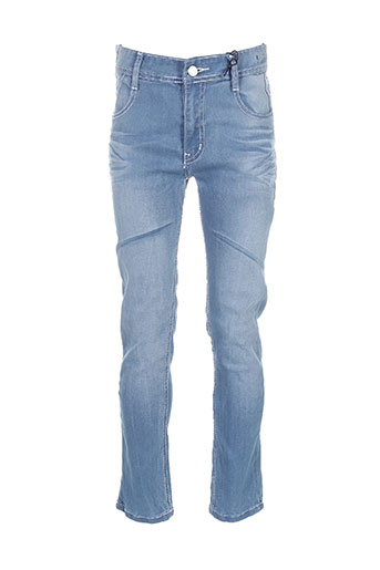 rivaldi pantalons garçon de couleur bleu