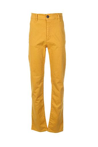 freegun pantalons garçon de couleur jaune