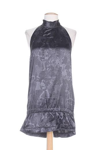 firetrap chemises femme de couleur gris