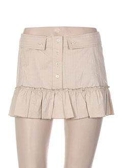 Mini-jupe beige PAUL & JOE pour femme