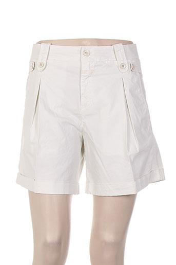 closed shorts / bermudas femme de couleur gris