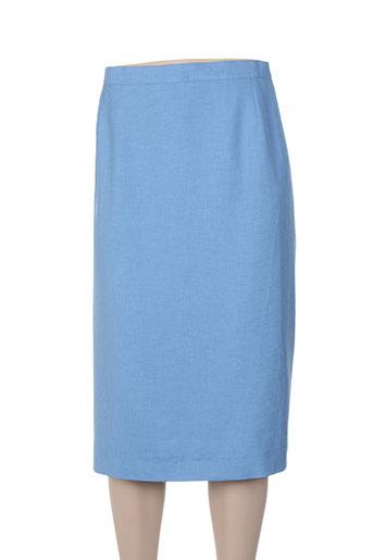 guy dubouis jupes femme de couleur bleu