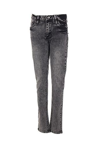 Jeans skinny noir DANNIEL BRUNNI pour femme