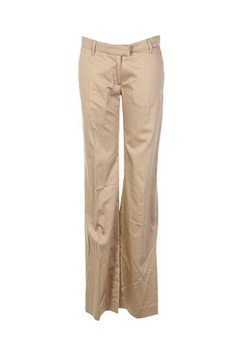 Pantalon chic beige BILLTORNADE pour femme