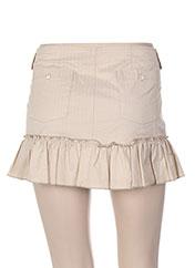 Mini-jupe beige PAUL & JOE pour femme seconde vue