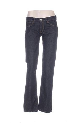 loft jeans femme de couleur bleu