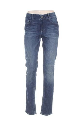 Jeans coupe slim bleu BLACK ORCHID pour femme