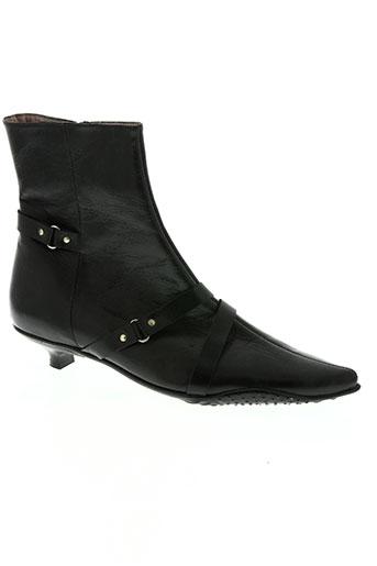 pierre chupin chaussures femme de couleur noir