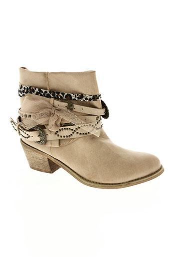 sweet shoes chaussures femme de couleur beige