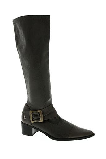 fugitive by francesco rossi chaussures femme de couleur gris