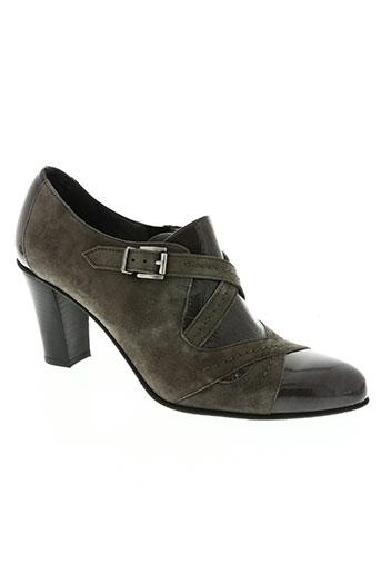 miss fidji chaussures femme de couleur gris