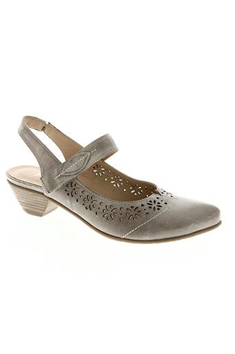 miss fidji chaussures femme de couleur beige