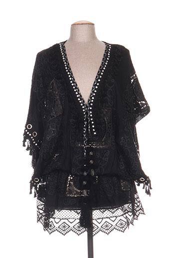 laurie EFFI_CHAR_1 joe tuniques femme de couleur noir