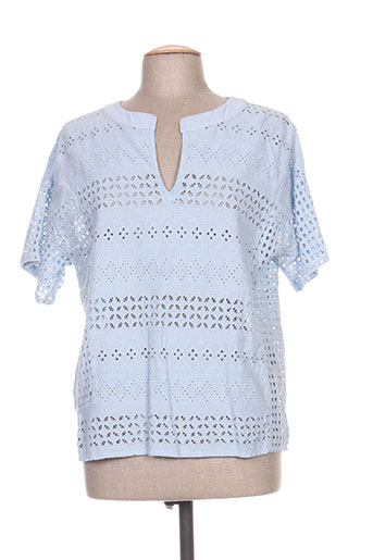 aquajeans chemises femme de couleur bleu