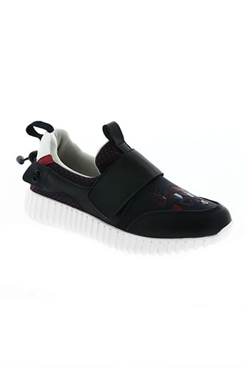 poupee chic chaussures femme de couleur bleu