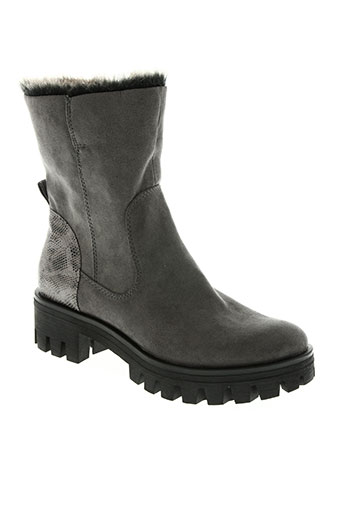 tamaris chaussures femme de couleur gris