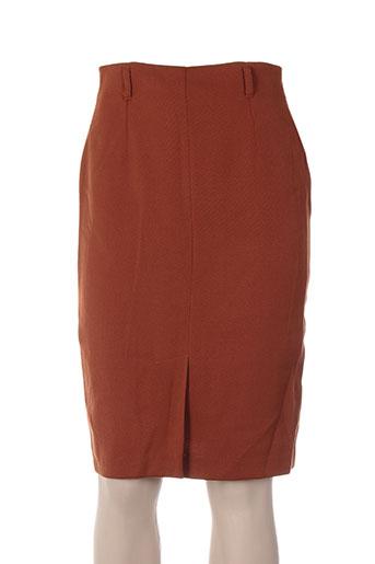 carole richard jupes femme de couleur marron