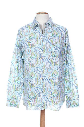 arthur chemises homme de couleur bleu
